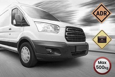 Koeriersdienst – palletvervoer – documenten vervoer